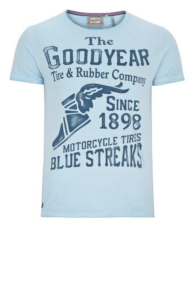 Goodyear T-Shirt MARLIN »MARLIN« in Soft Sky