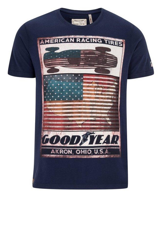 Goodyear T-Shirt ROBERTSON »ROBERTSON« in Navy