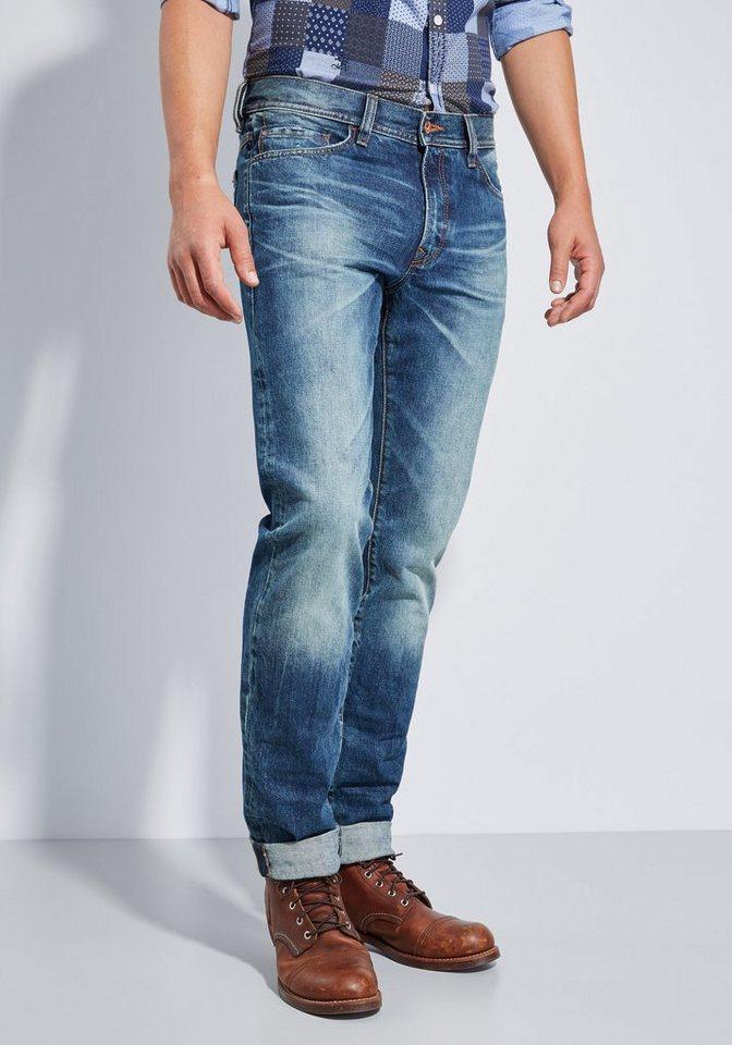 Otto Kern Jeans »John« in used denim