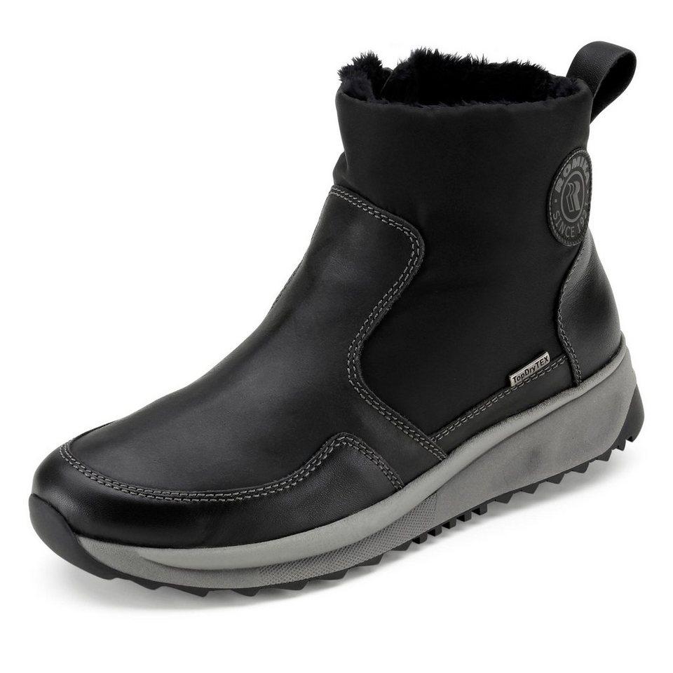 Romika Romana Tex-Boots in schwarz