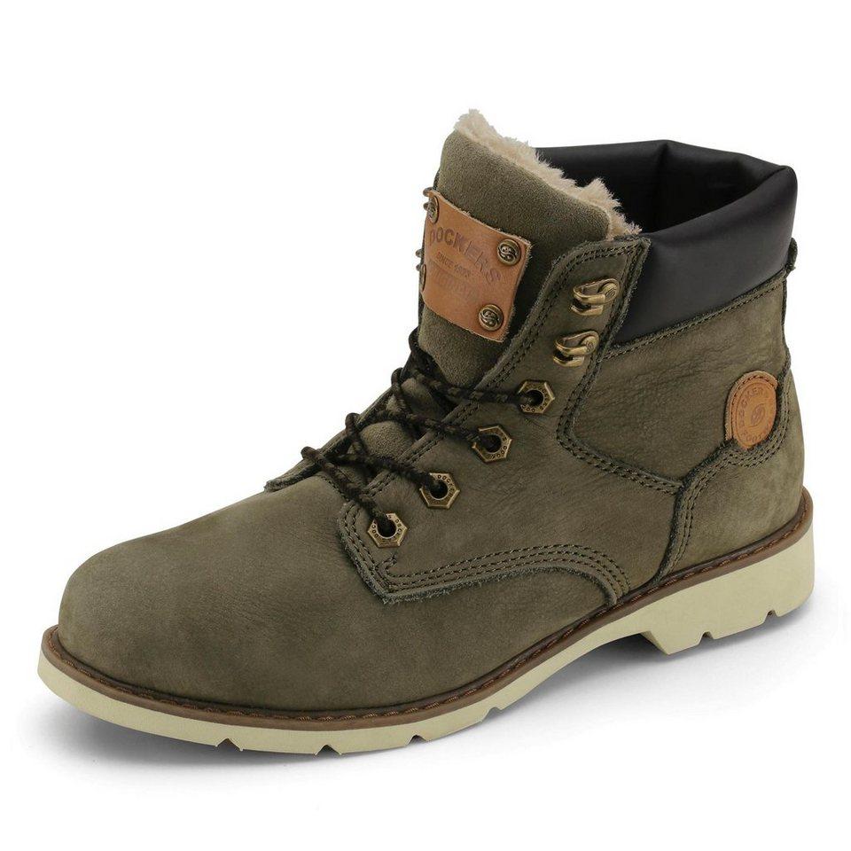 Dockers Boots in khaki