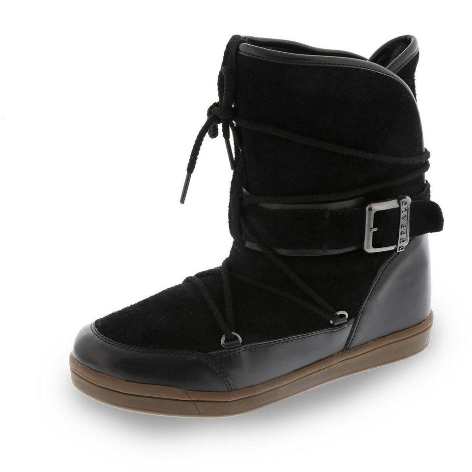 Buffalo Boots in schwarz