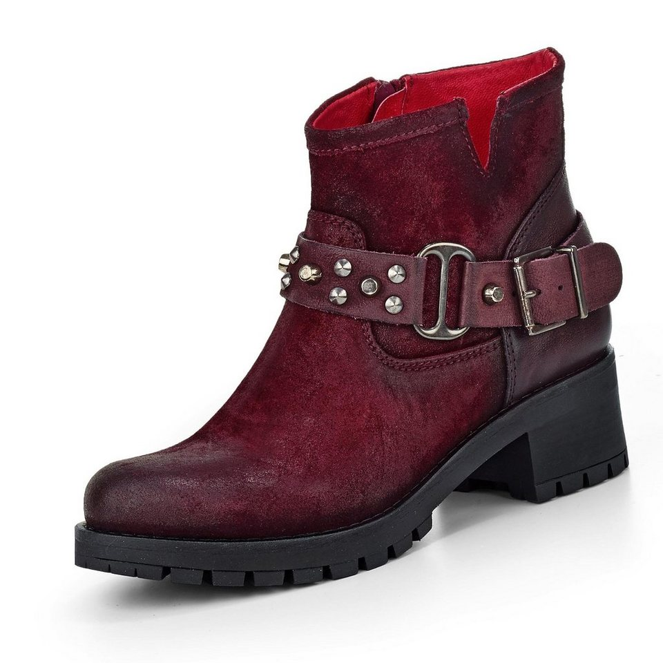 Buffalo Stiefelette in bordeaux