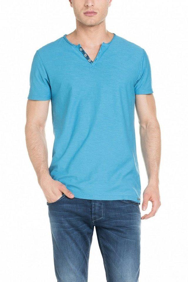 salsa jeans T-Shirt, kurzarm »CANCUN« in Blue