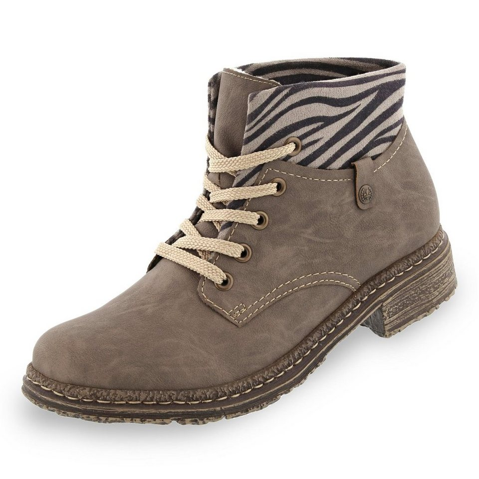 Rieker Stiefelette in taupe