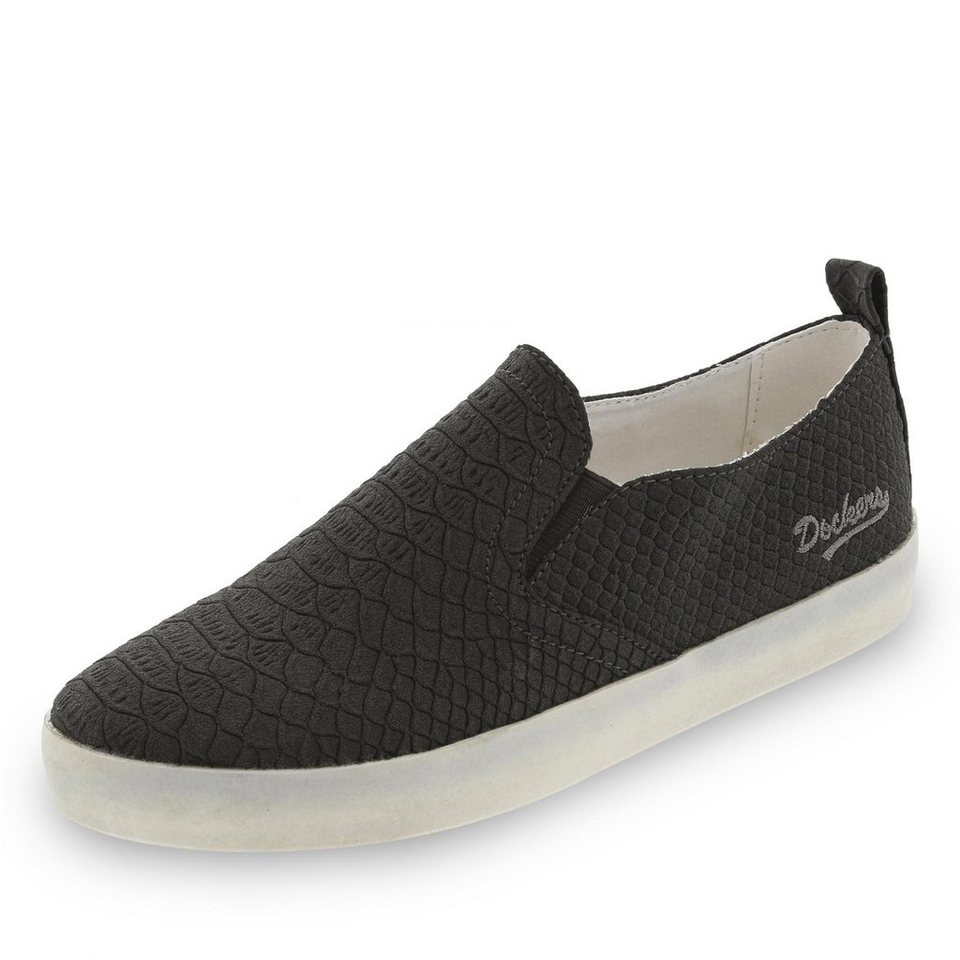 Dockers Slipper in schwarz