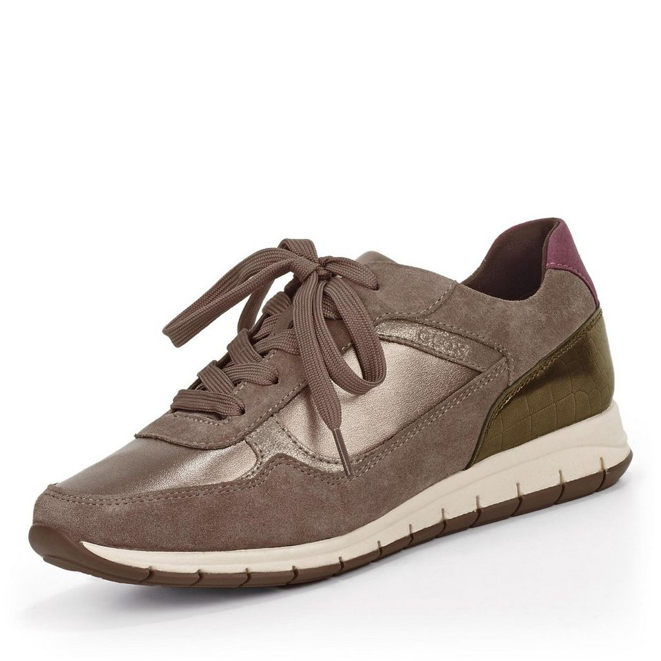 Geox Contact Sneaker in taupe