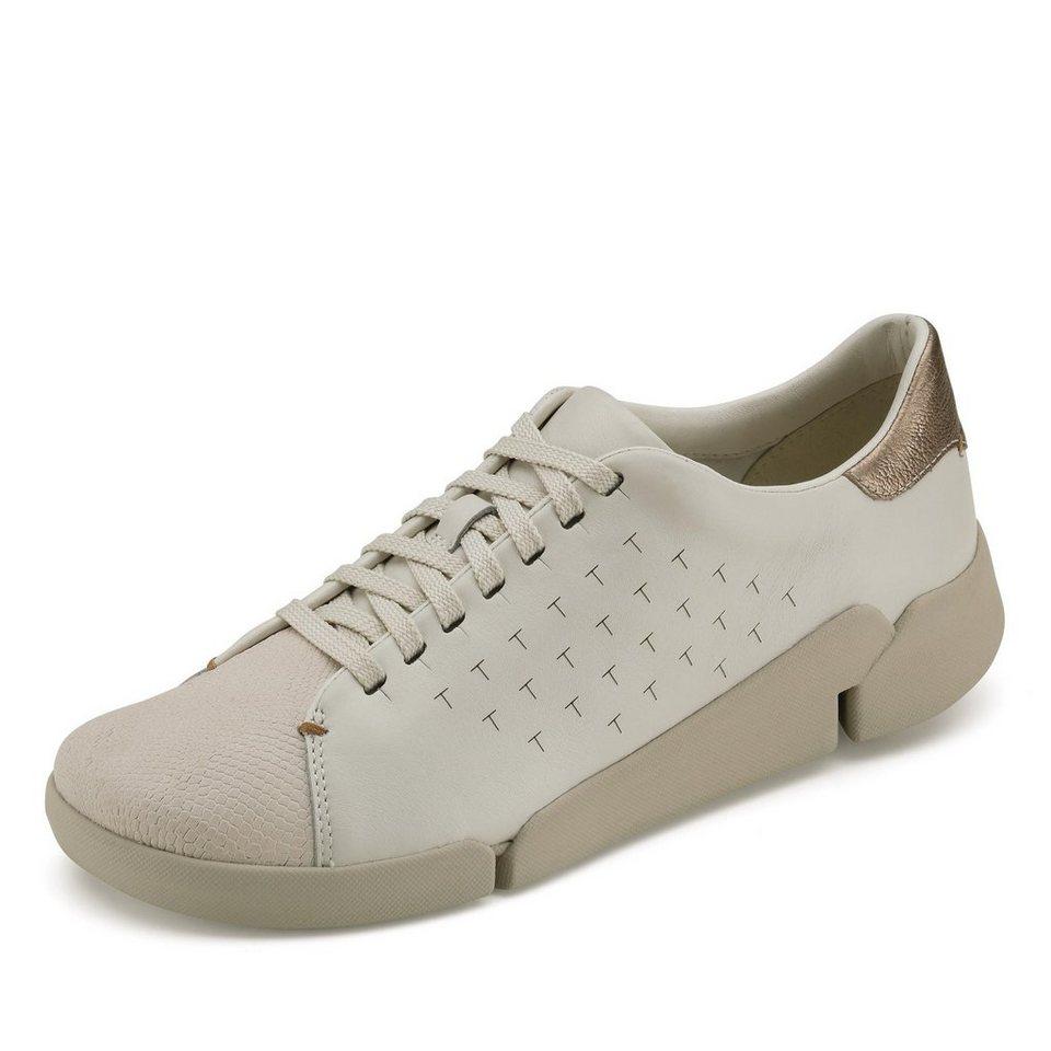 Clarks Tri Abby Sneaker in weiß