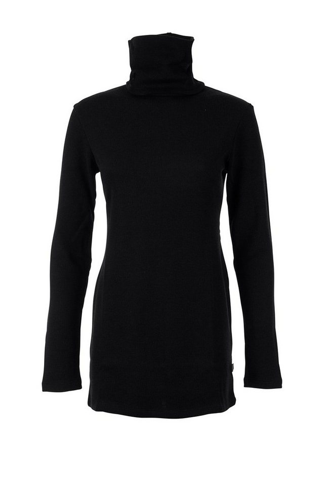 Super.Natural Merino Pullover »W MORAG TURTLE NECK« in CAVIAR