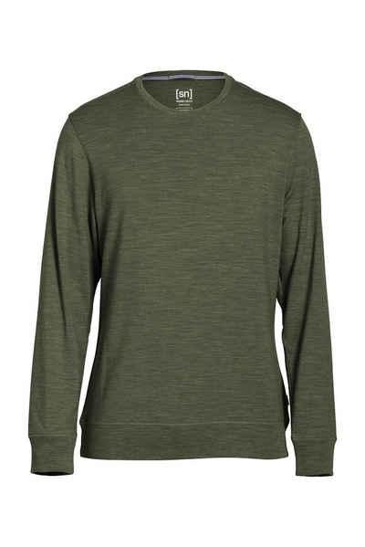Super.Natural Merino Sweatshirt »M WATERTOWN CREW NECK« Sale Angebote Koppatz
