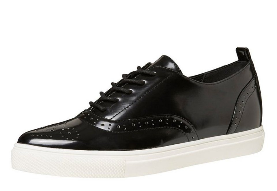 Vero Moda Brogue- Schuhe in Black