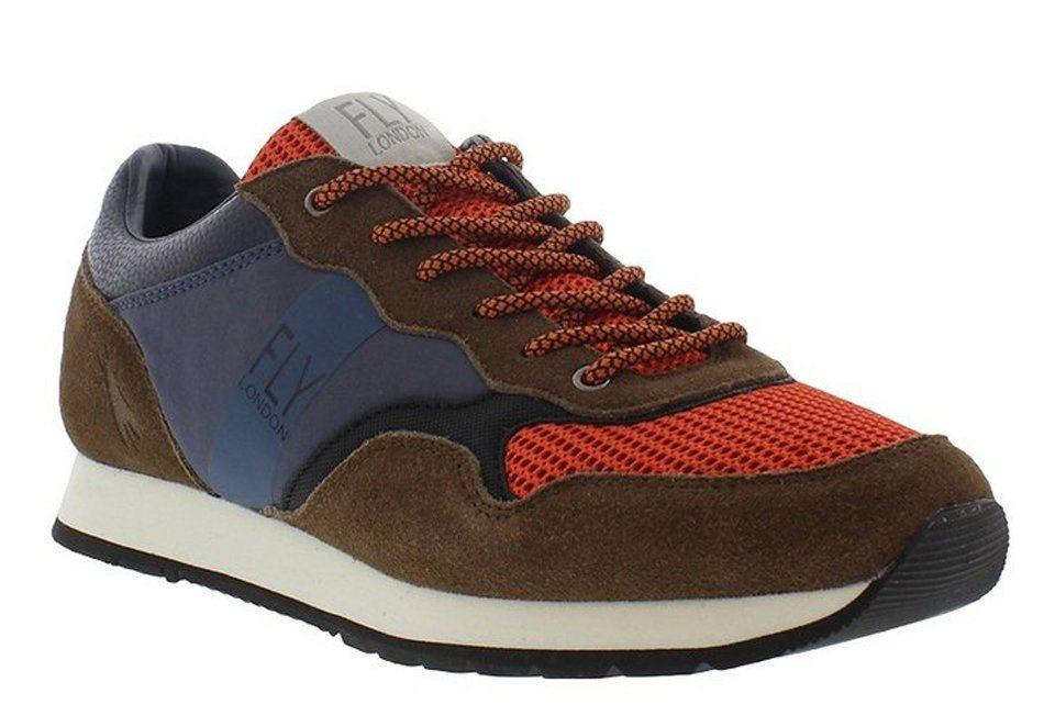 FLY LONDON Sneaker,Schnürschuhe,Herrensneaker,high »PECU840FLY« in blau