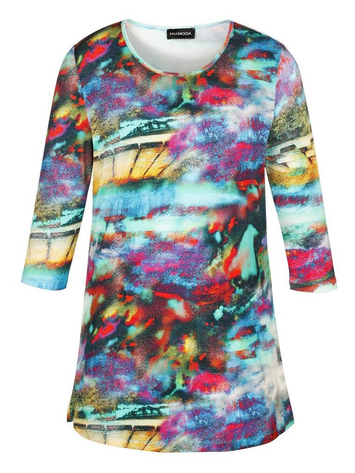 MIAMODA Longshirt in multicolor