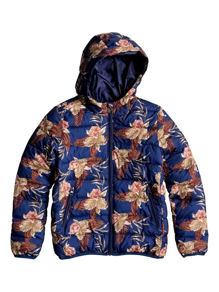 Roxy Insulator-Jacke »Question Reason Print« in Blue print