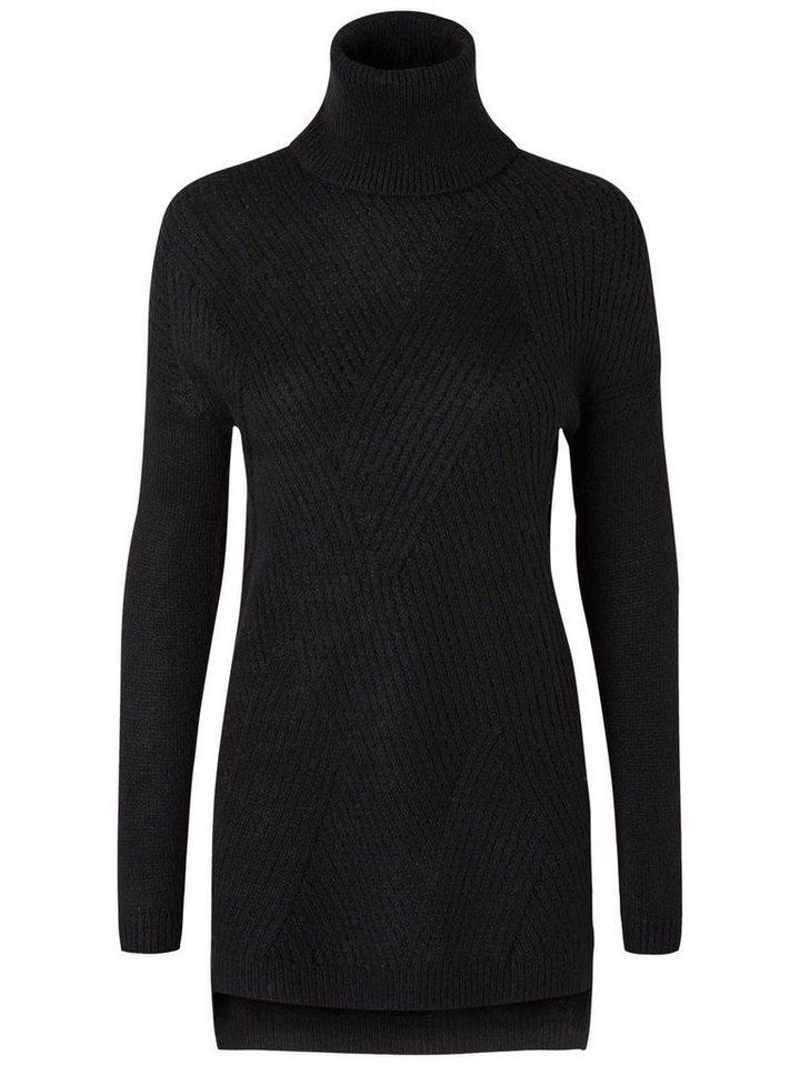 Vero Moda Rollkragen- Strickpullover in Black