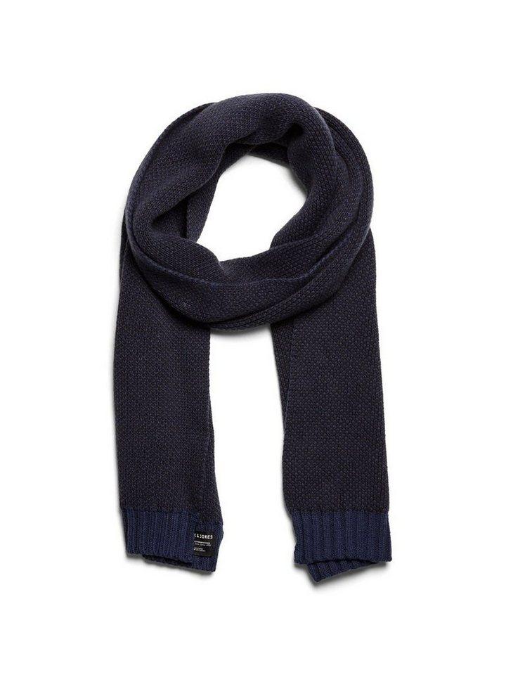 Jack & Jones Klassischer Schal in Navy Blazer