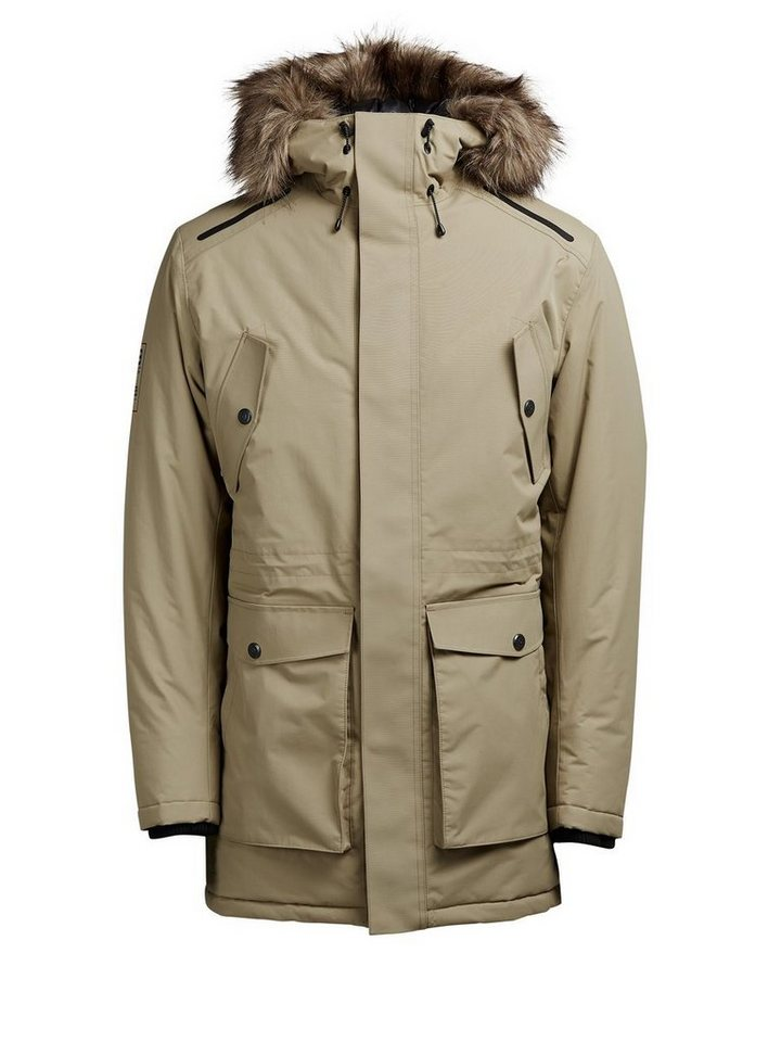 Jack & Jones Technischer Parka in Elmwood