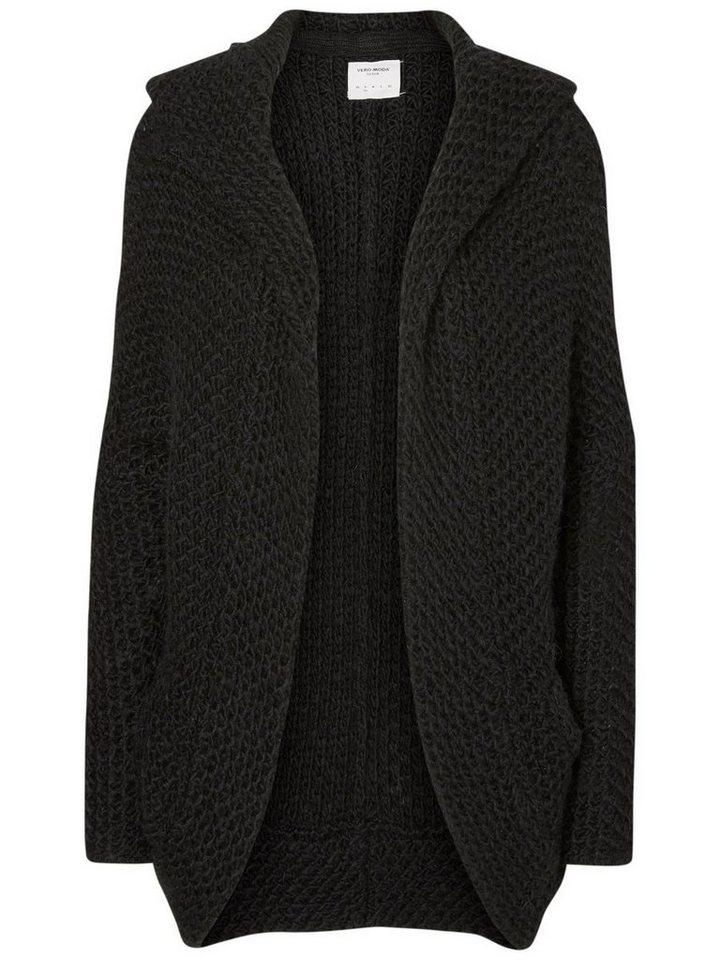 Vero Moda Oversized- Strick-Cardigan in Black