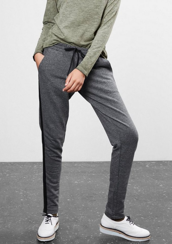 Q/S designed by Melierte Jogging Pant in grey