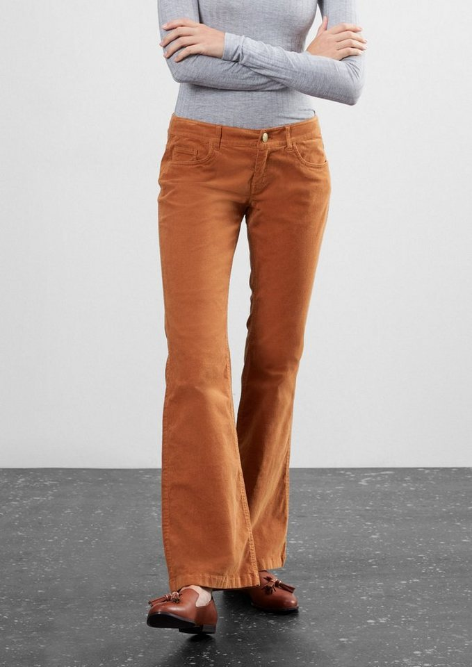 Q/S designed by Jeans in dark copper