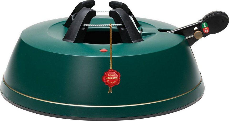 Krinner Christbaumständer 3,5 Liter Wassertank, »Comfort M« in grün
