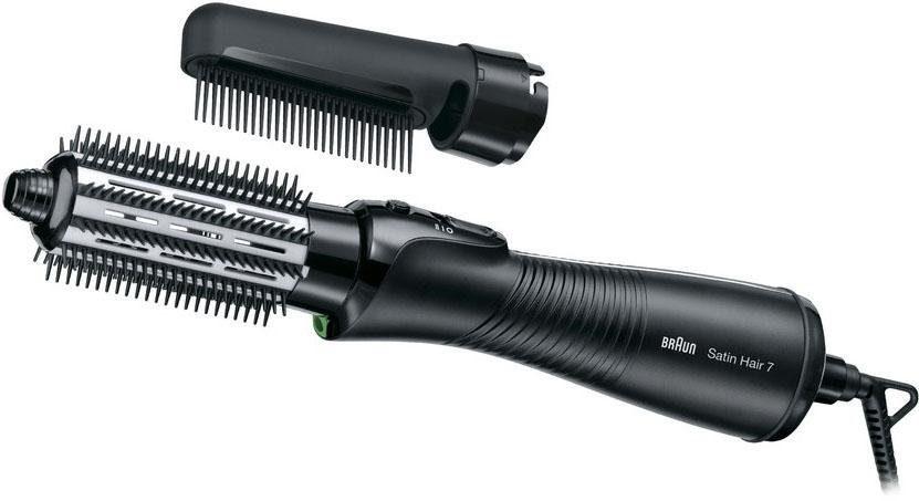 Braun Lockenbürste Satin Hair 7 AS 720, Warmluft-Lockenbürste mit IONTEC Technologie