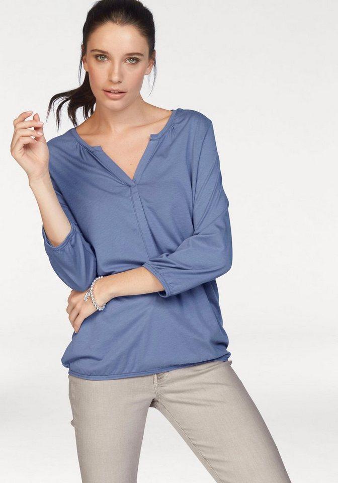 Soya Concept Blusenshirt »Felicity7« in ocean