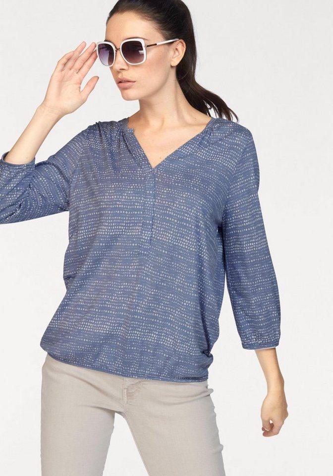 Soya Concept Rundhalsshirt »Felicity66« in ocean