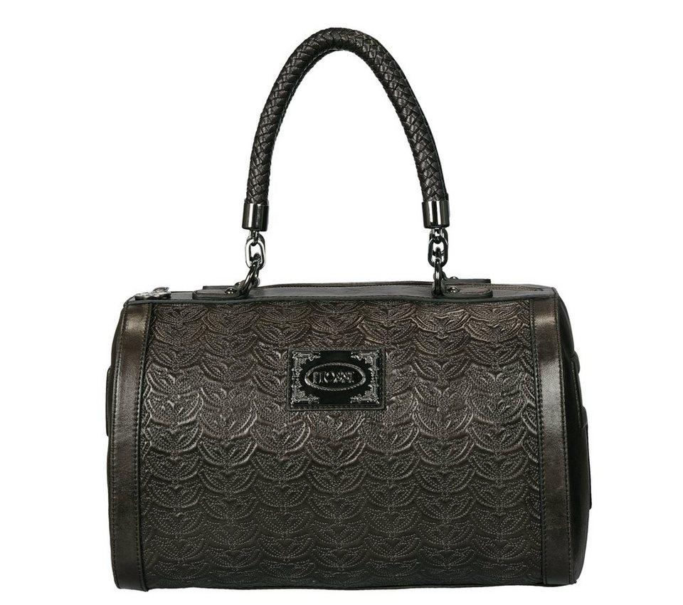 Silvio Tossi Handtaschen in sehr dunkelolive