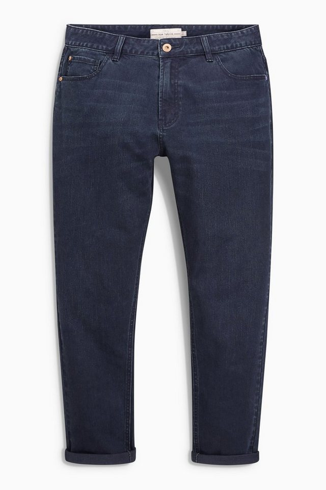 Next Tapered-Fit Stretch-Jeans in Blue Tapered Fit