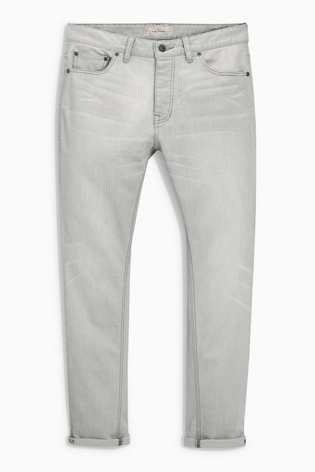 Next Tapered-Fit Stretch-Jeans in Grey Tapered Fit