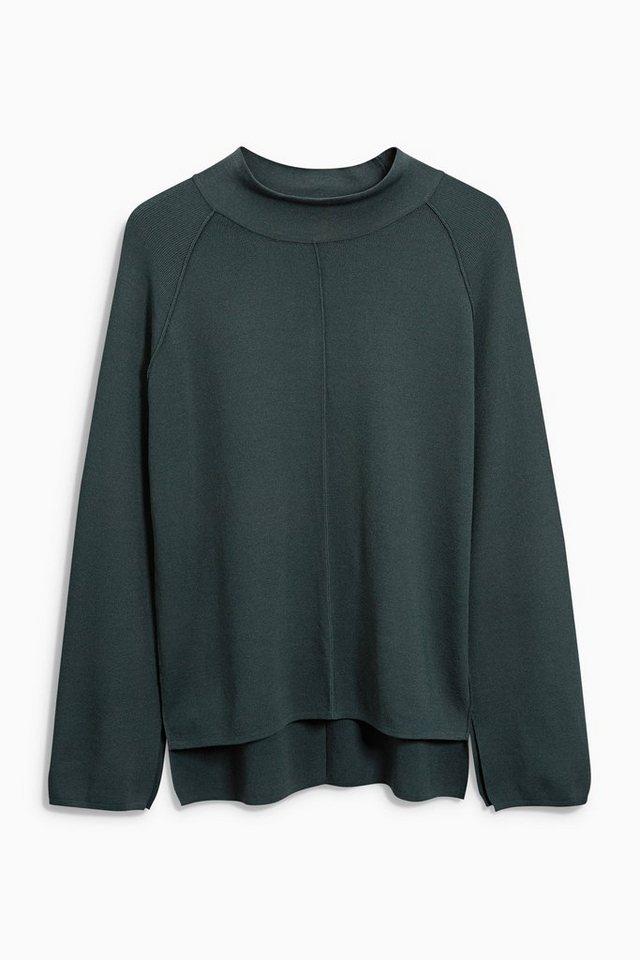 Next Hochgeschlossener Pullover in Green