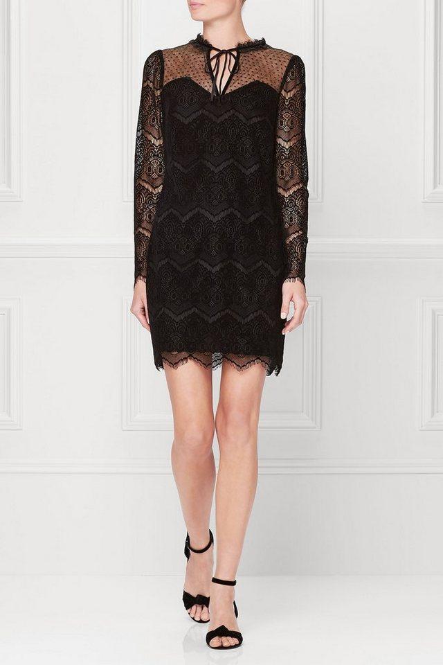 Next Gothic-Kleid aus Spitze in Black