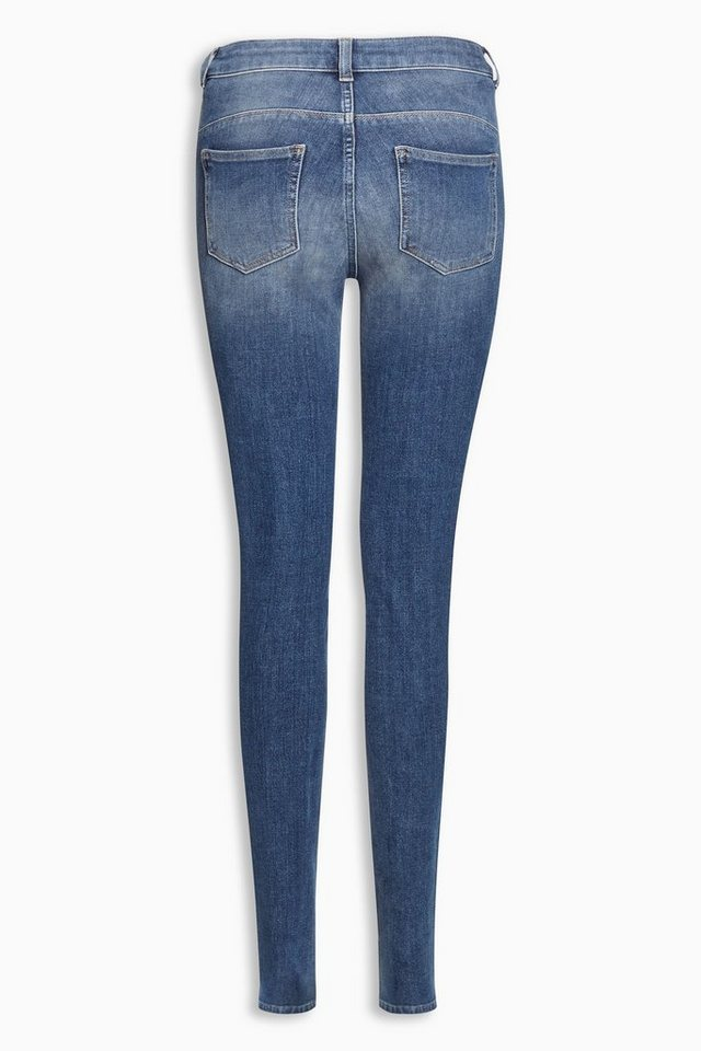 Next 360 Super Skinny-Jeans in Light Blue