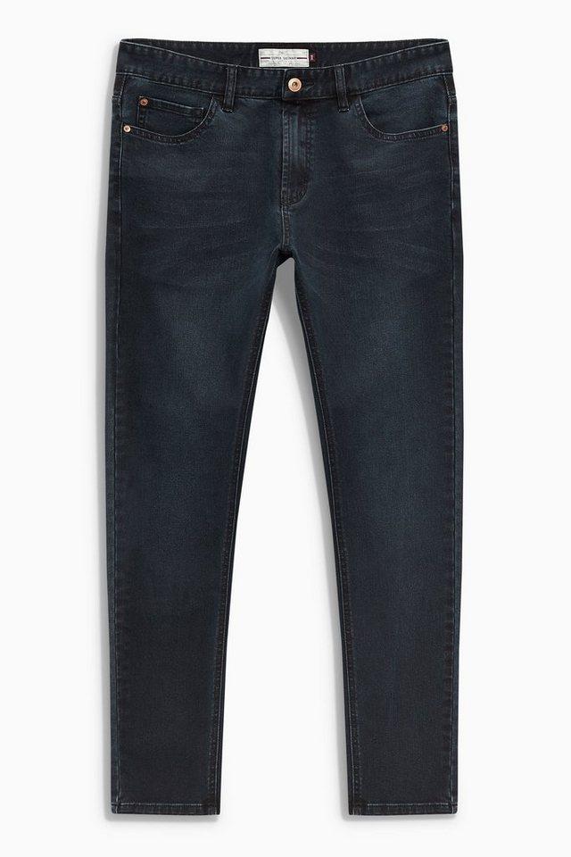 Next Super-Skinny-Fit Stretch-Jeans in Ink Blue Super Skinny Fit