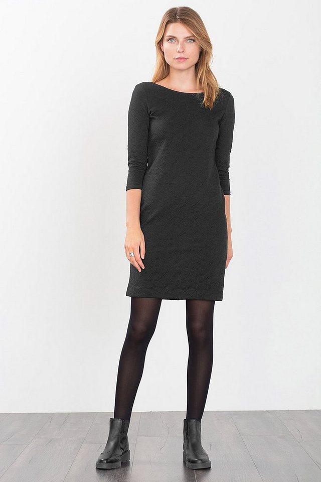 ESPRIT CASUAL Etuikleid aus festem Jersey/Stretch in BLACK