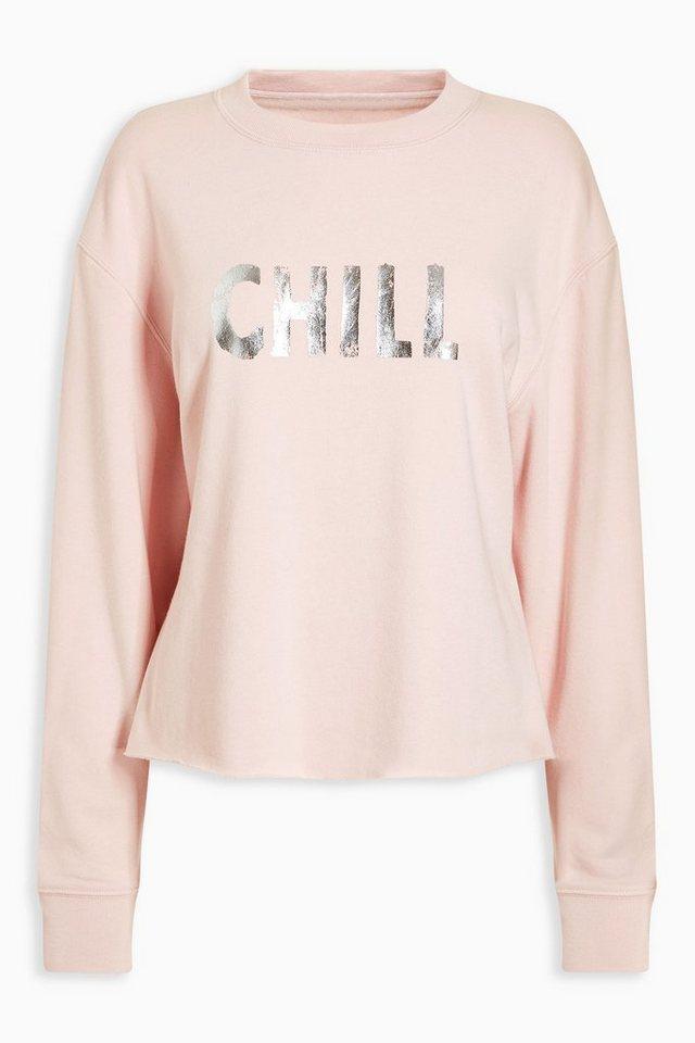 Next Weiches Sweatshirt in Pink