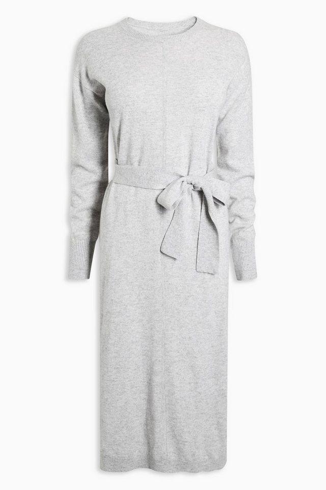 Next Kleid aus Kaschmirgemisch in Grey