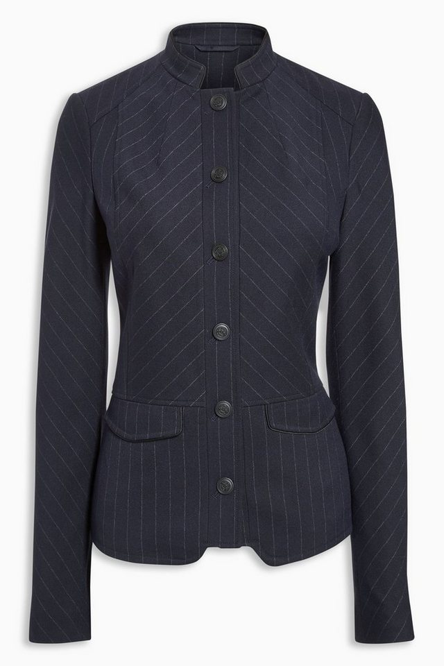 Next Blazer im Military-Stil in Blue