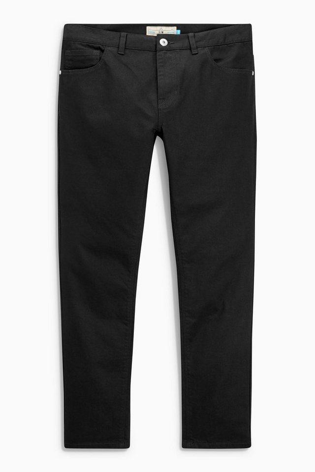 Next Slim-Fit Stretch-Jeans in Black Slim Fit