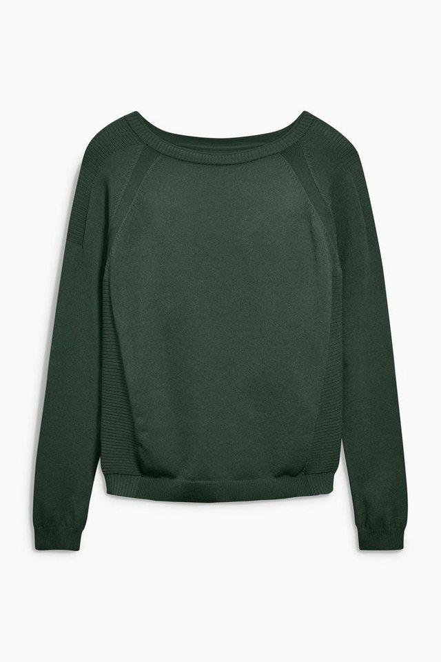 Next Pullover mit Rundhalsausschnitt in Green