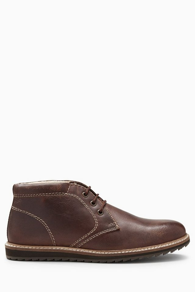 Next Chukka-Stiefel aus Leder in Brown