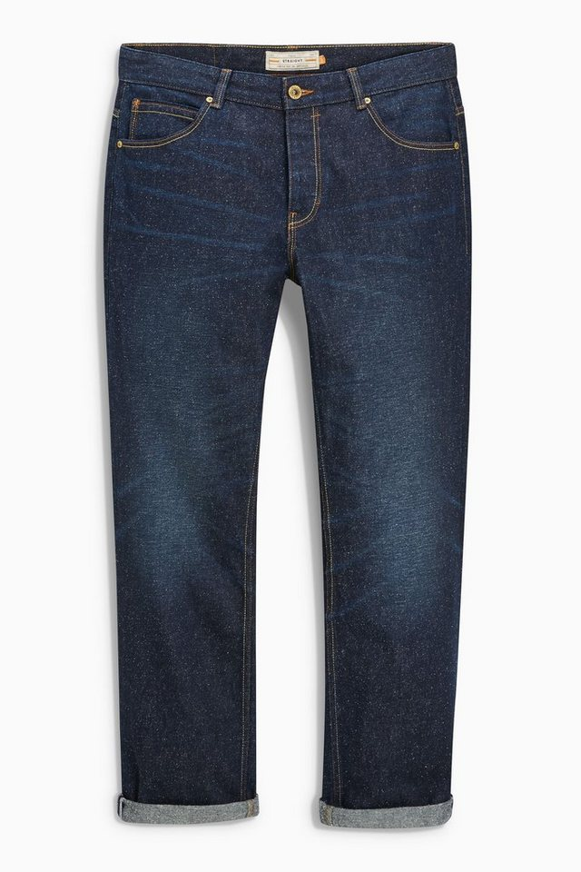 Next Straight-Fit Jeans in Noppenoptik in Blue Straight Fit