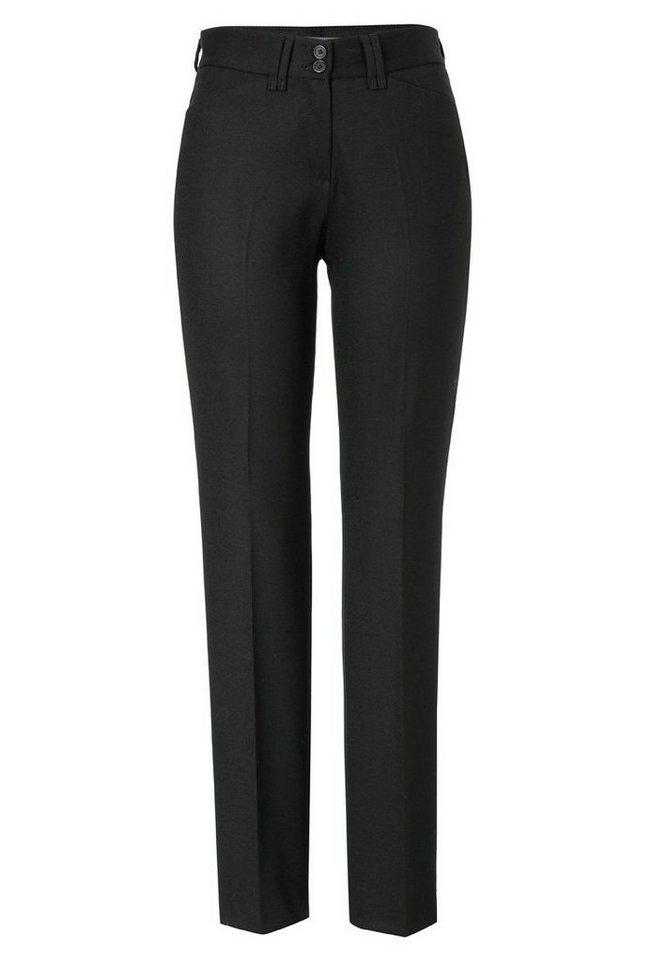 BRAX Damenhose Wollhose »CELINE« in BLACK