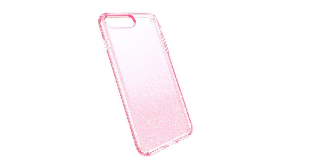 Speck HardCase »PRESIDIO iPhone (7) Plus CLEAR GLITTER ROSE PINK W«