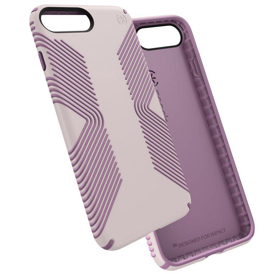 Speck HardCase »PRESIDIO GRIP iPhone (7) Plus WHISPER PURPLE/LILAC« in lila