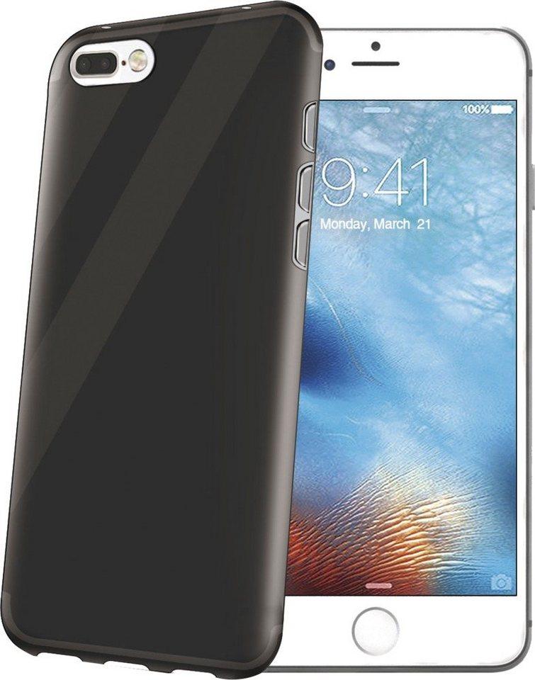 Celly Weiches SilikonCover für das iPhone 7 Plus »Gelskin Cover« in schwarz
