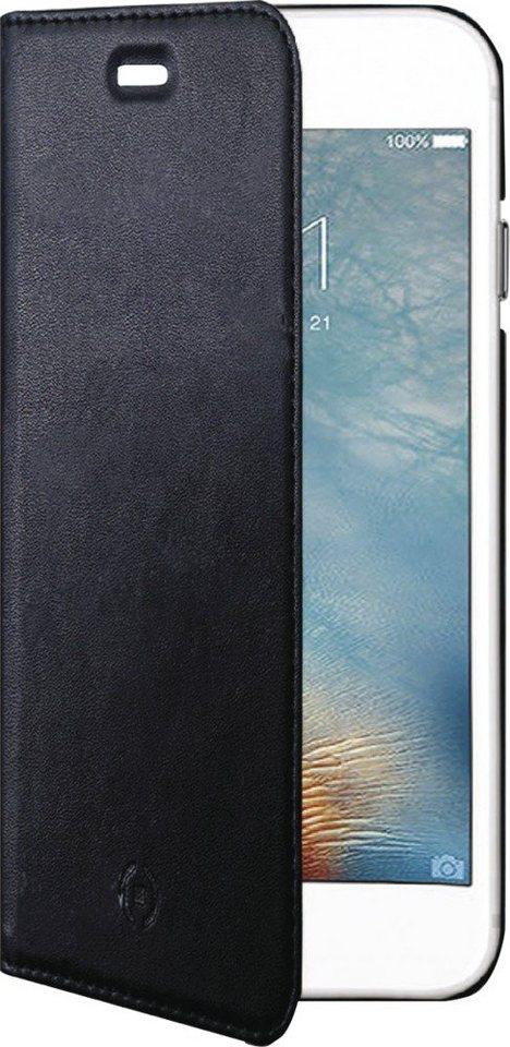 Celly Schlankes FlipCover für das iPhone 7 »Air Case« in schwarz