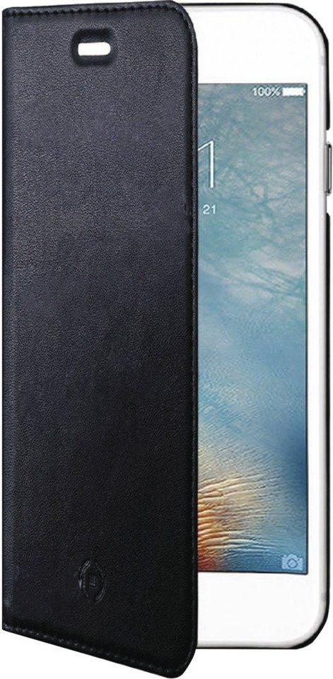 Celly Schlankes FlipCover für das iPhone 7 Plus »Air Case« in schwarz
