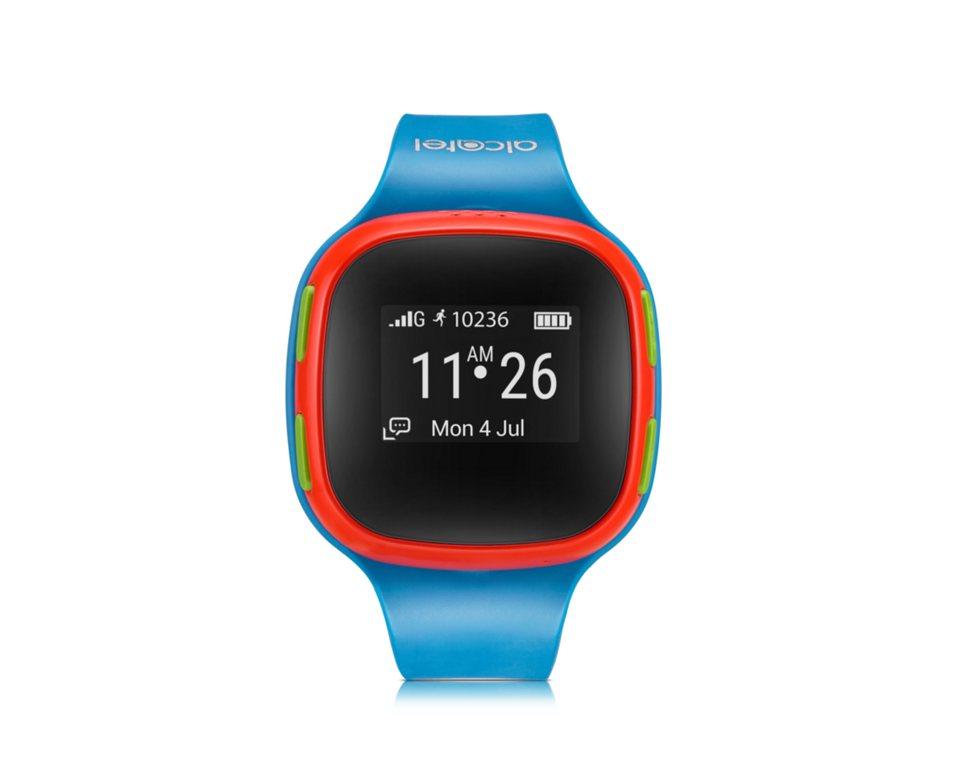 Alcatel Smartwatch »MOVE TIME Kids Watch SW10« in Blau-Orange